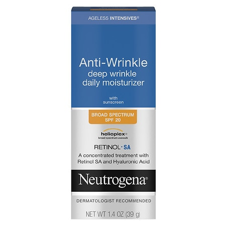 Neutrogena Ageless Intensives Anti-Wrinkle Deep Wrinkle Daily Moisturizer SPF 20