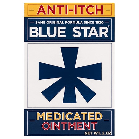 Blue Star Ointment with Soothing Aloe - 2 oz.