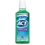 ACT Total Care Anticavity Fluoride Mouthwash Alcohol Free Fresh Mint