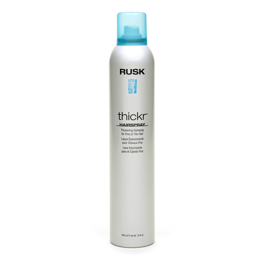 Rusk Thickr Hairspray For Fine Or Thin Hair Walgreens