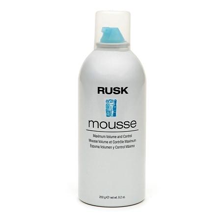 Rusk Mousse Maximum Volume and Control - 8.8 oz.