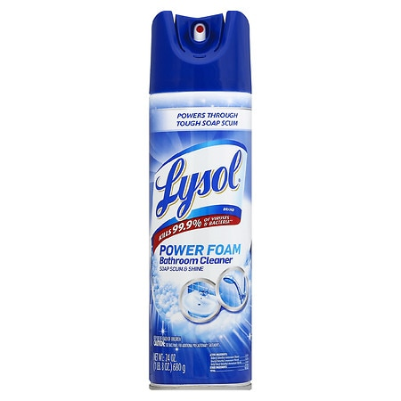 Lysol Island Breeze 4 in 1 Bathroom Cleaner Disinfectant Spray