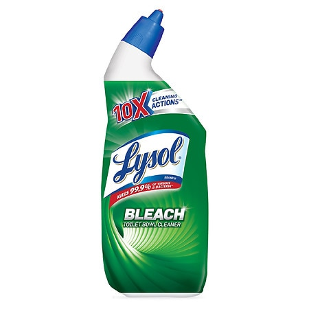 Image of Lysol Complete Clean with Bleach Toilet Bowl Cleaner - 24 fl oz