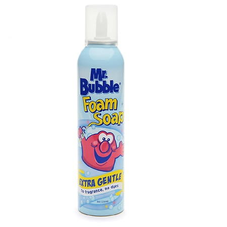 Mr. Bubble Foam Soap Extra Gentle