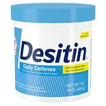 Desitin Daily Defense Baby Diaper Rash Cream With Zinc Oxide