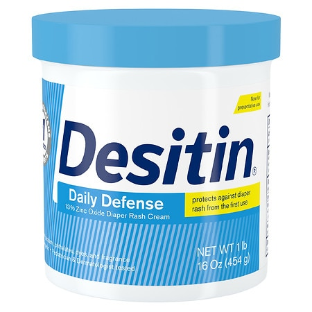 Desitin Rapid Relief Diaper Rash Cream