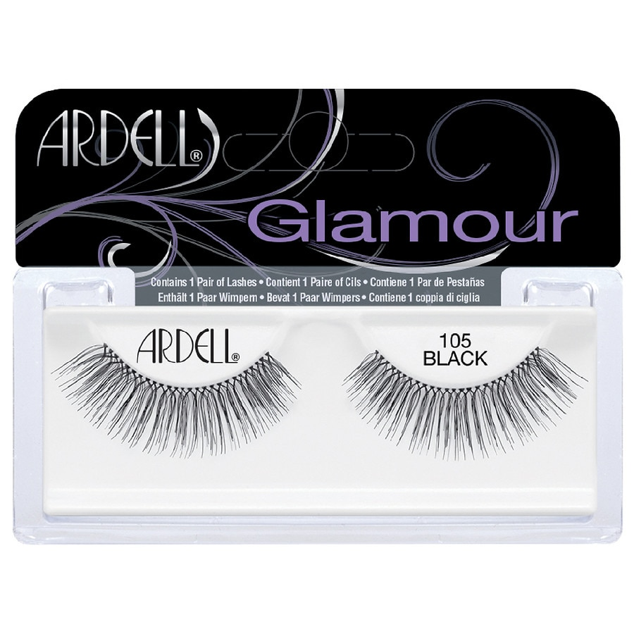 1071719bf83 Ardell Glamour Lashes 105 Style 105 Black | Walgreens