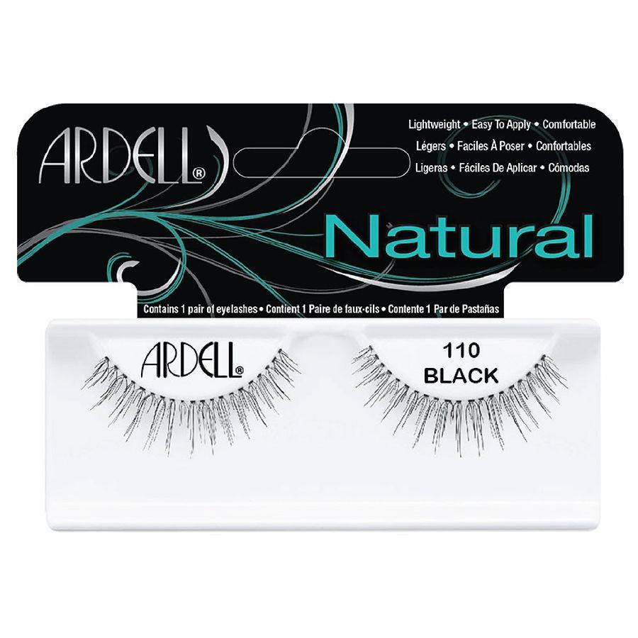 8de2a3a7fc9 Ardell Natural Lashes 110 Black | Walgreens