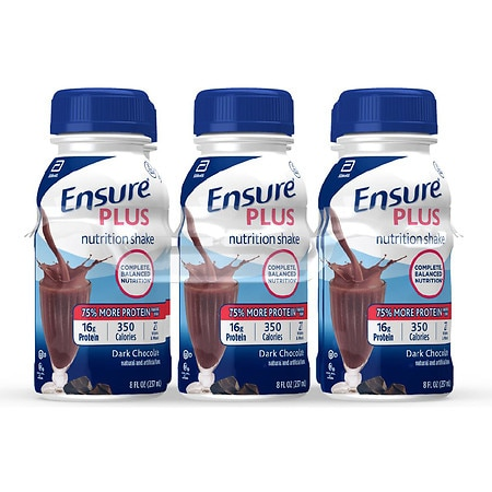 Ensure Plus Nutrition Shake Rich Dark Chocolate