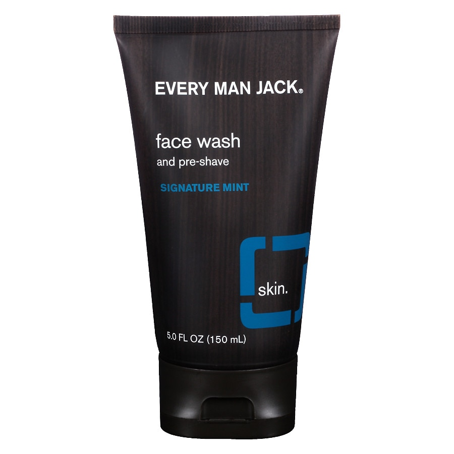Every Man Jack Face Wash And Pre Shave Signature Mint Walgreens