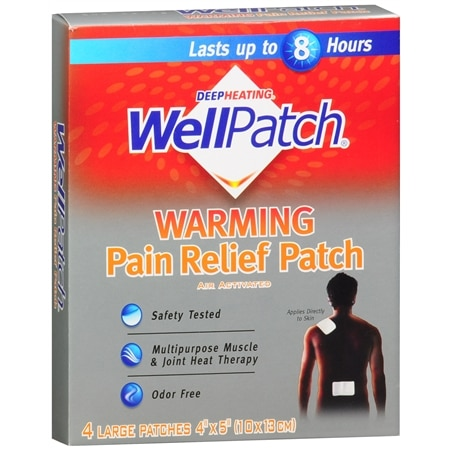 WellPatch Warming Pain Relief Patches