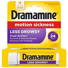 Dramamine All Day Less Drowsy Motion Sickness Relief   Walgreens