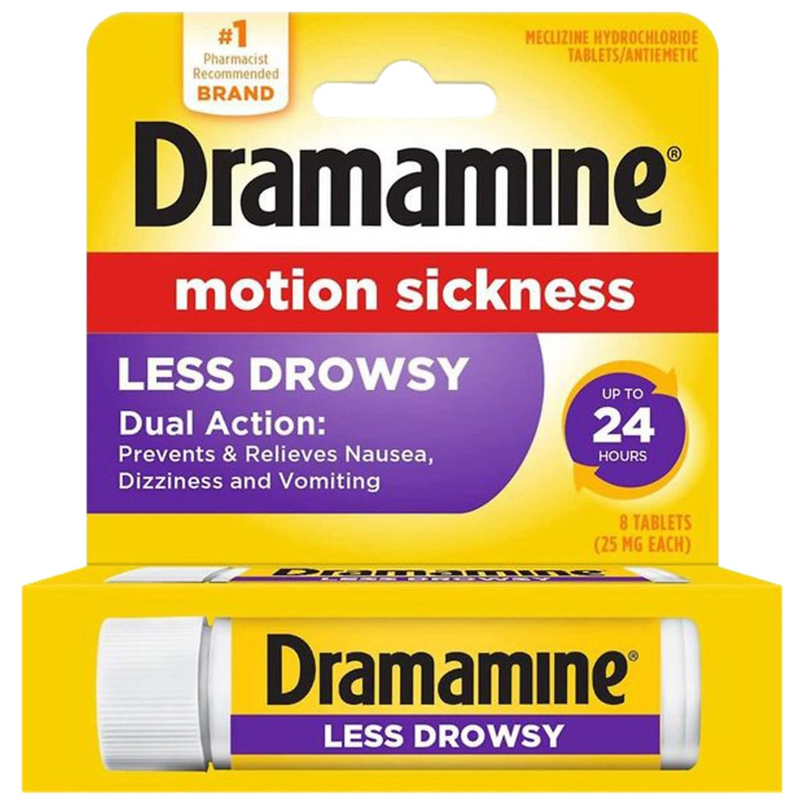 Dramamine All Day Less Drowsy Motion Sickness Relief