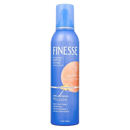 Finesse Self Adjusting Mousse, Curl Defining
