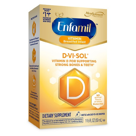 Enfamil D-Vi-Sol Vitamin D Supplement Drops - 1.66 fl oz