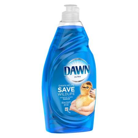 Dawn Ultra Concentrated Dishwashing Liquid Original 21.6 Fl Oz