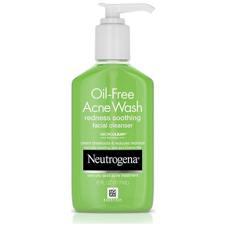 Neutrogena oil free acne wash facial cleanser