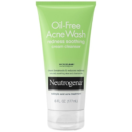 Neutrogena Oil-Free Acne Wash Cream Cleanser