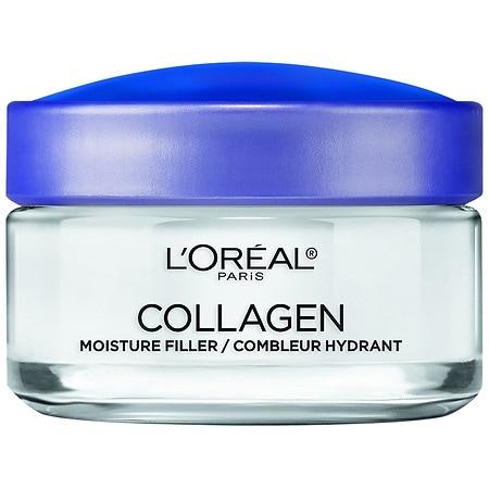 L'Oreal Paris Collagen Moisture Filler Facial Day Night Cream - 1.7 oz.
