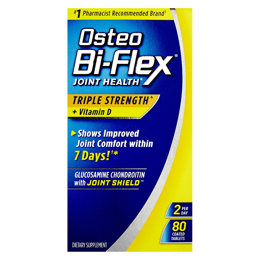 Osteo Bi Flex Joint Health With Vitamin D Triple Strength Coated Nature Made 170 Caplets Product Large Image