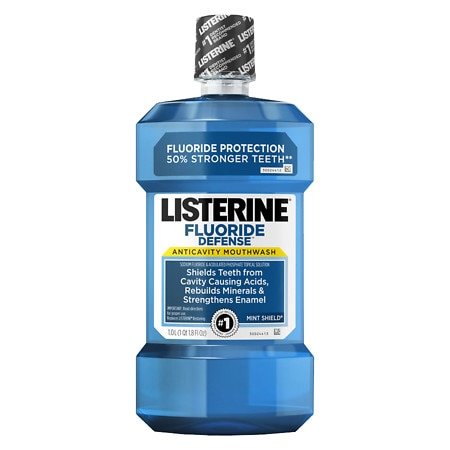 Mouthwashes with fluoride