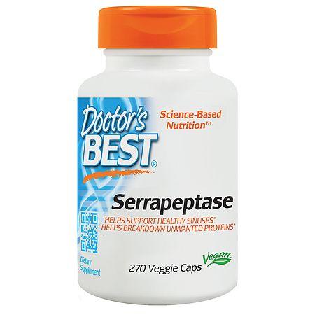 Doctor's Best Serrapeptase Veggie Caps