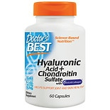 Doctor's Best Best Hyaluronic Acid with Chondroitin Sulfate, Capsules