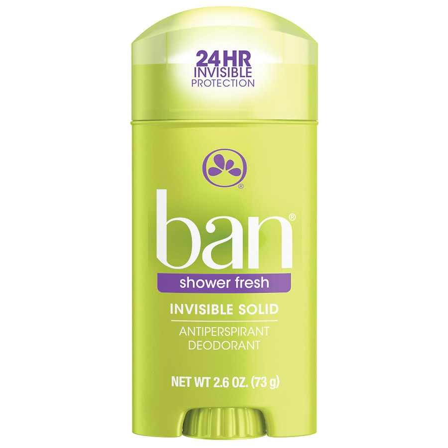 Image result for Invisible Solid Shower Fresh Deodorant for Women by Ban