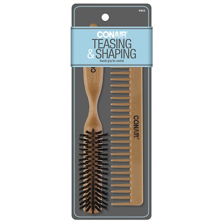 Conair Brush Styling Essentials Brush and Comb Set