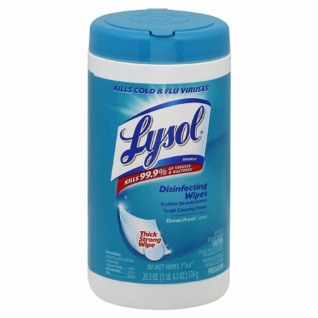 Image of Lysol Disinfecting Wipes Ocean Fresh - 80 ea