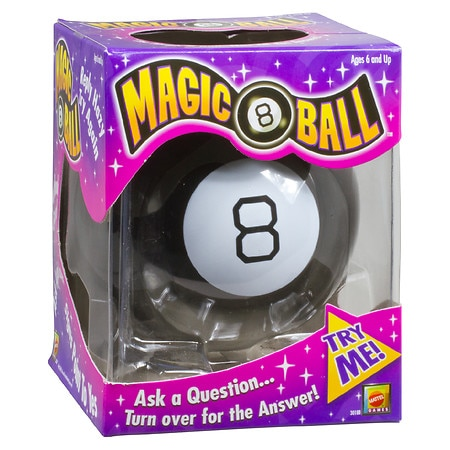 Magic 8 Ball Original, Ages 6+ - 1 ea