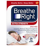 Breathe Right Extra Strength Nasal Strip Tan
