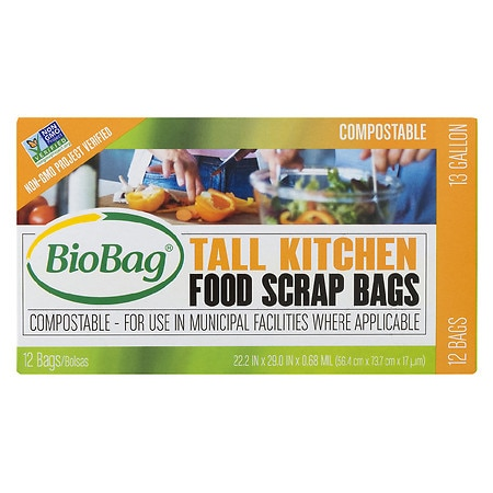 BioBag Toilet Waste Bags - 24 ea