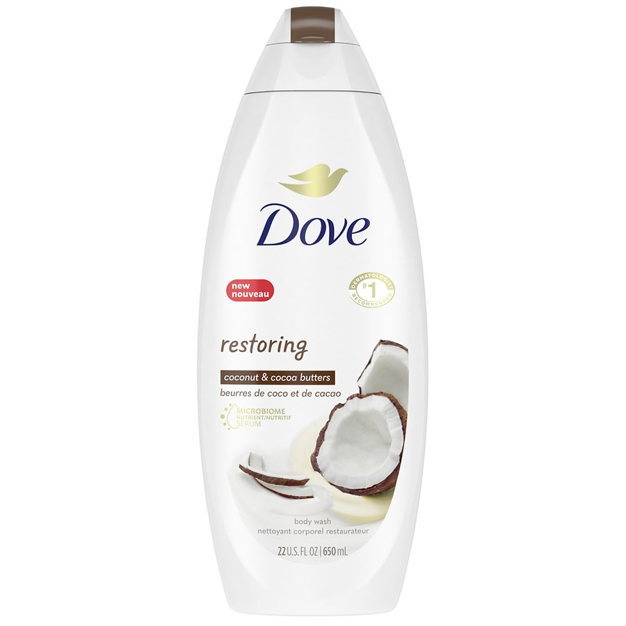 Dove Body Wash Coconut Butter And Cocoa Butter Walgreens