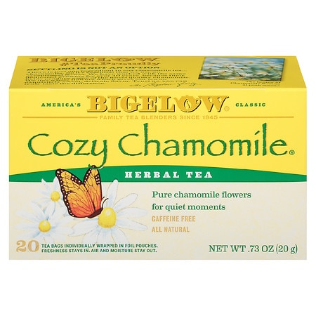 Image of Bigelow Cozy Chamomile Herb Tea - 20 bags