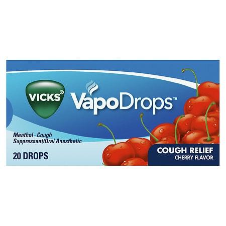 Vicks VapoDrops Cherry - 20 ea