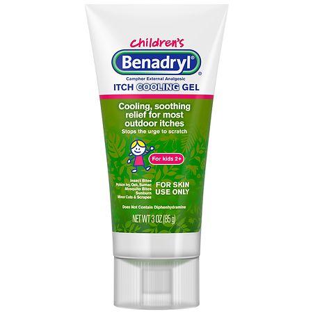 Children's Benadryl Anti-Itch Gel For Kids