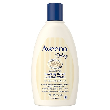 Aveeno Baby Soothing Relief Creamy Wash - 12 fl oz