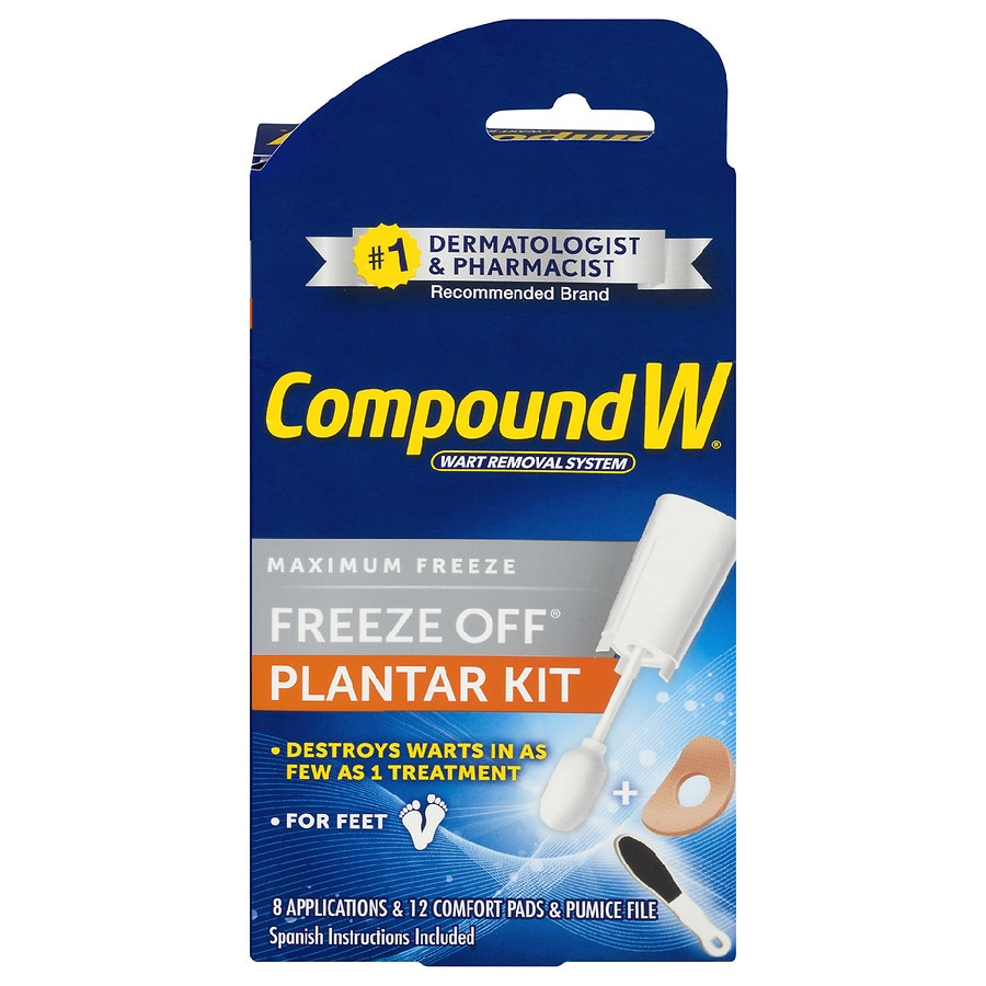 Compound W Freeze Off Plantar Wart Removal Kit