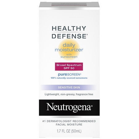 Neutrogena Healthy Defense Daily Moisturizer Lotion SPF 50