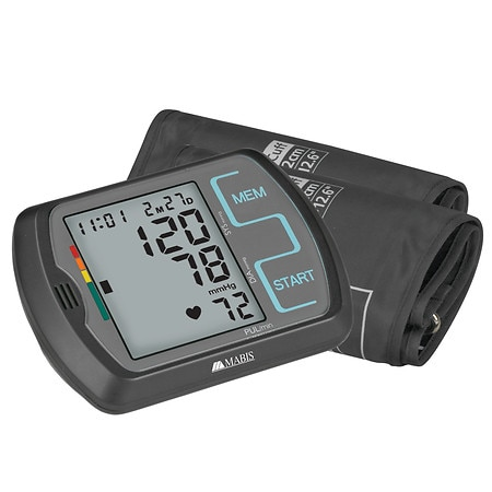 Mabis Touch Key Digital Blood Pressure Arm Monitor