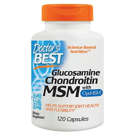 Doctor's Best Glucosamine Chondroitin MSM, Capsules - 120 ea