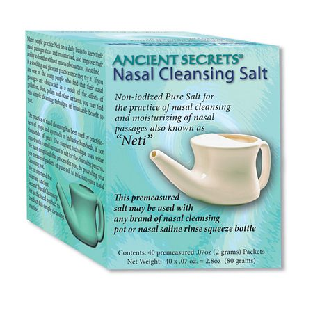 Ancient Secrets Nasal Cleansing Salt Packets -