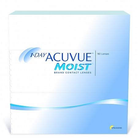 1-Day Acuvue Moist 90 Pk 1-Day Acuvue Moist 90 pack - 1 Box