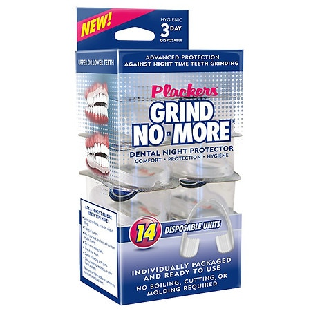 Plackers Grind No More Dental Night Protector - 14 ea