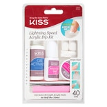 Kiss Lightning Speed Salon Dip Powder Manicure Kit