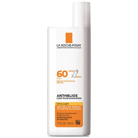 La Roche-Posay Anthelios Ultra Light Face Sunscreen Fluid SPF 60 with Cell Ox Shield XL - 1.7 fl oz