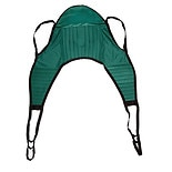 Drive Medical Padded U Sling with Head Support Green