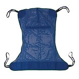 Drive Medical Mesh Full Body Patient Lift Sling Large Blue