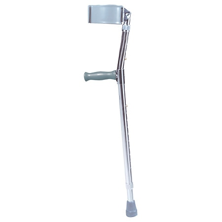 Drive Medical Lightweight Walking Forearm Crutches Tall Adult